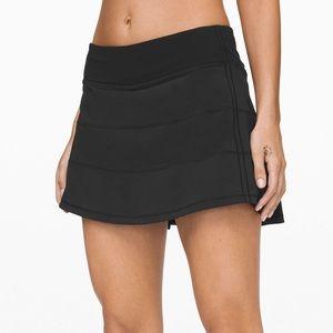 Lululemon Pace Rival Mid-Rise Athletic Skirt Black